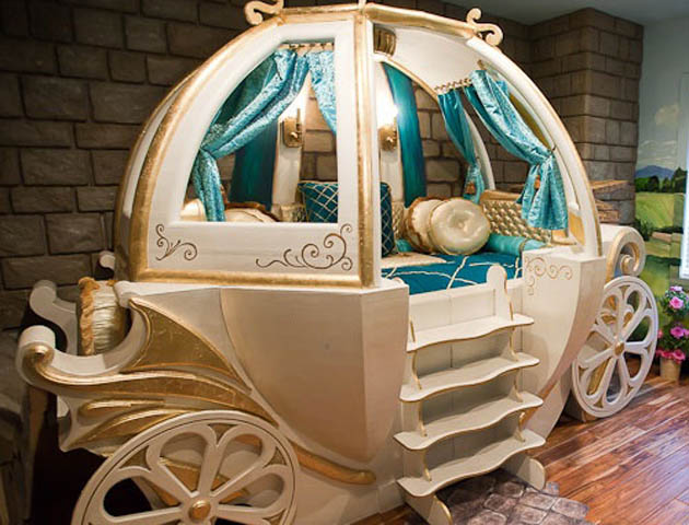 Toddler beds for girls princesses - Amazing Kids Beds That We Secretly Want In Our Grown Up Bedrooms