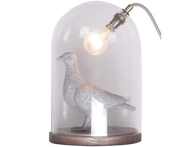 10 crazy lamps thatll brighten up your day life death prizes crazy lamps table lamp bird bhs mozeypictures Choice Image
