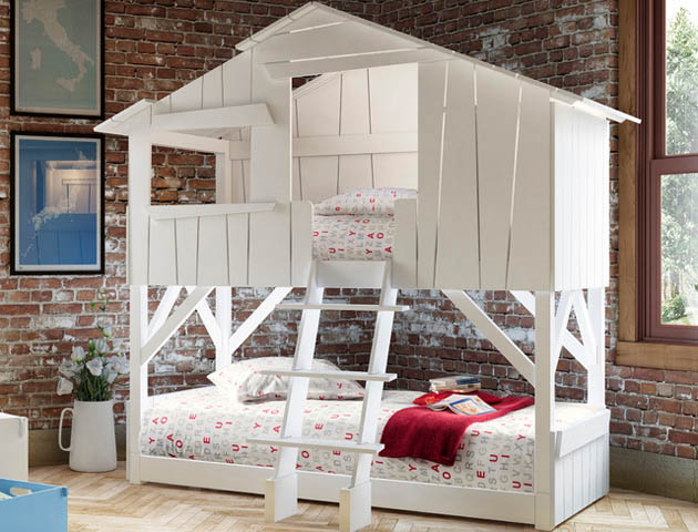Amazing Kids Beds Tree House Bunk Bed