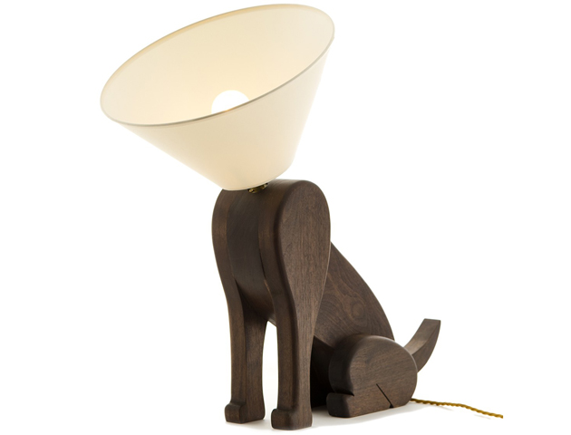 Sitting Dog Lamp by Matt Pugh for Pedlars