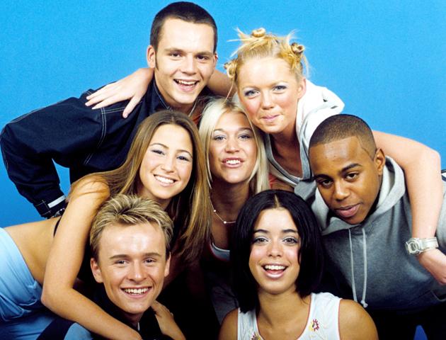 90s Pop group S Club 7 90s pop quiz