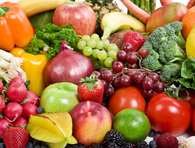 Fruit and veg is good for you!
