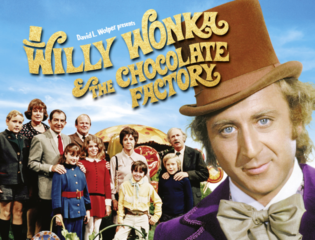 Willy Wonka 70s Film Poster