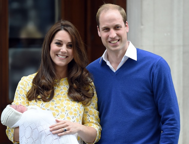Duke and Duchess of Cambridge leave hospital with Princess Charlotte