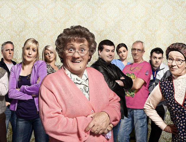 image of the cast of mrs brown's boys