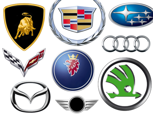 Famous Car Logos And Names >> Car logos quiz: Can you tell a Skoda from a Subaru?