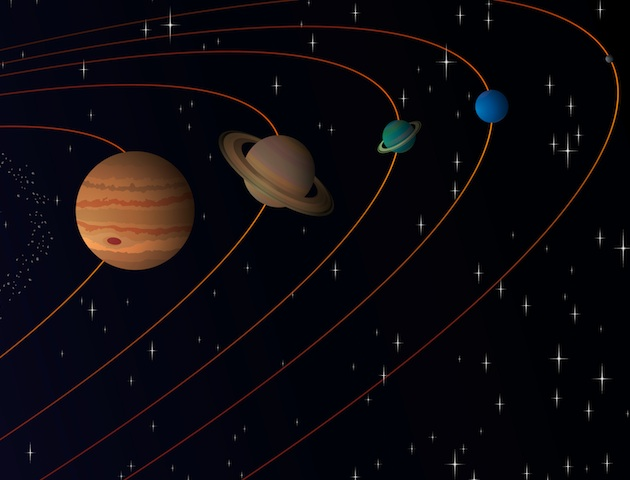 How did the planets get their names?