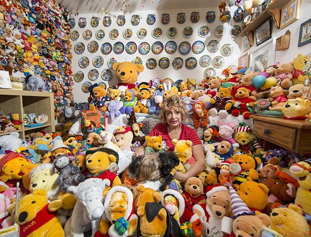 Woman Has 163 65 000 Winnie The Pooh Memorabilia Collection