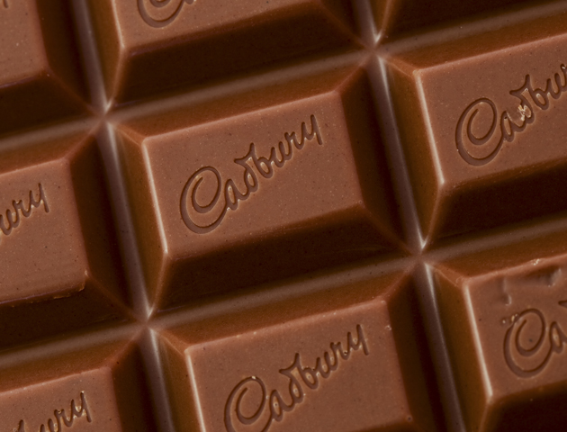 image of close up of cadbury's chocolate