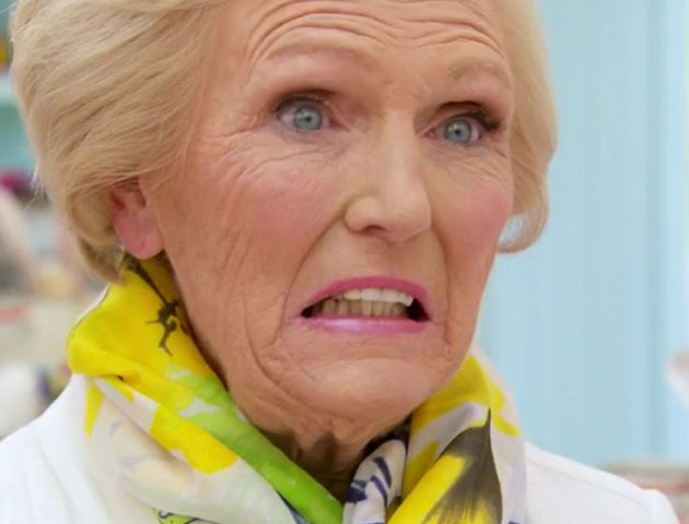 24 of the greatest great british bake off facial expressions