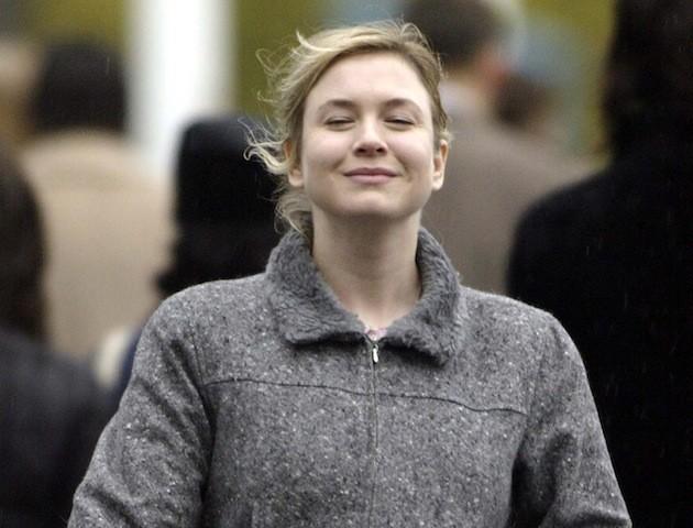 Bridget Jones smiling