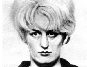 The infamous arrest photo of hard-looking Myra Hindley (Rex Features)