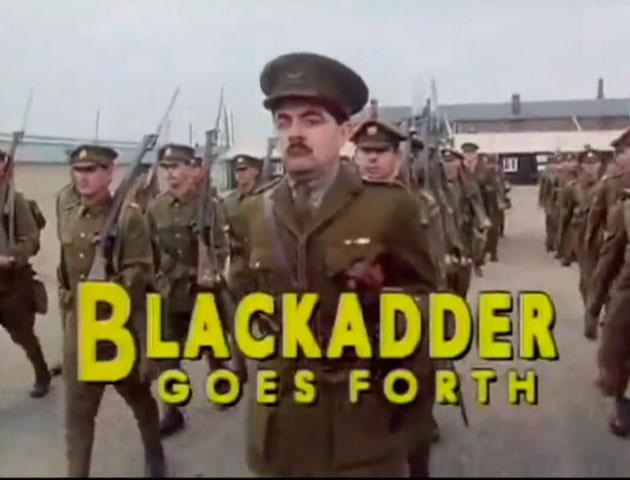 Blackadder Goes Forth Ending