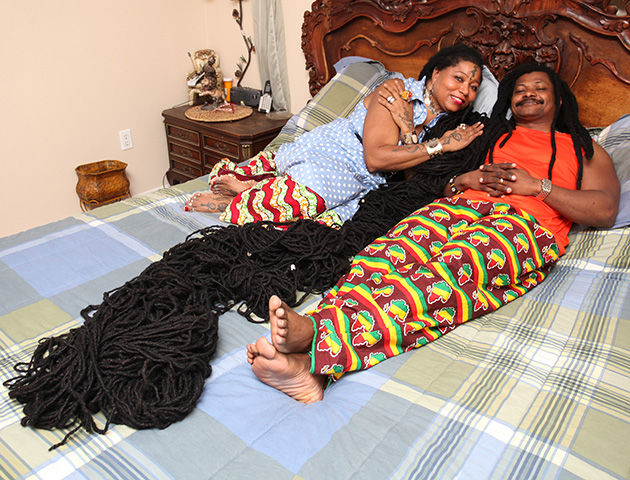 Woman with the world's longest dreadlocks finds her ...