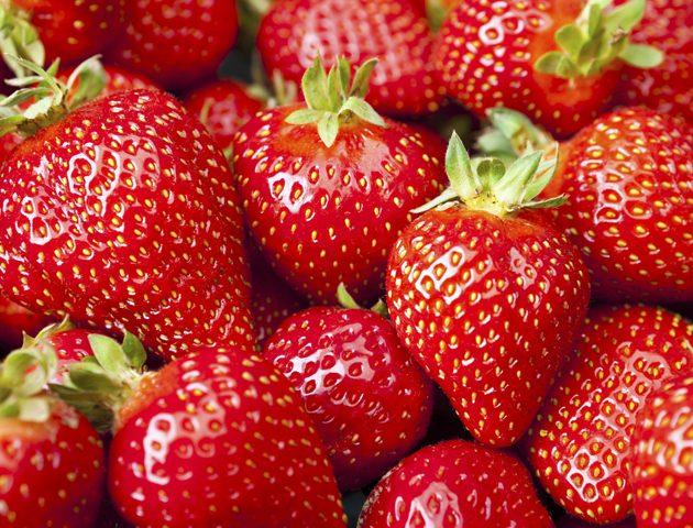 image of masses of strawberries!