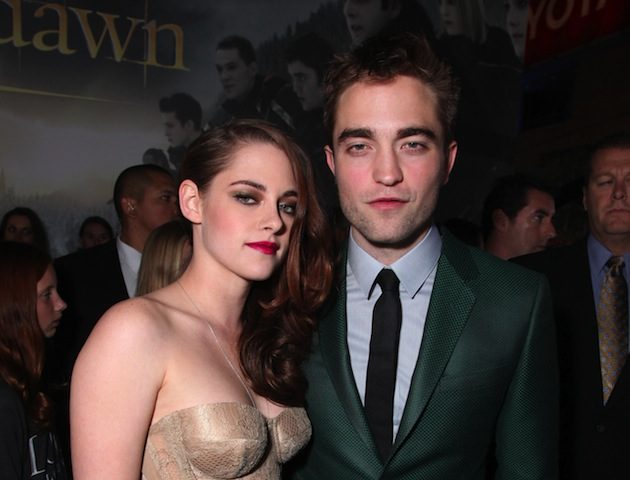 Kristen Stewart & Robert Pattinson romances