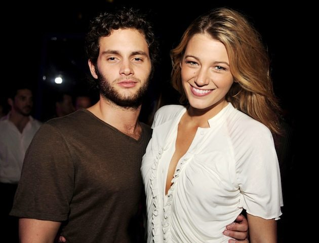 Blake Lively & Penn Badgley romances