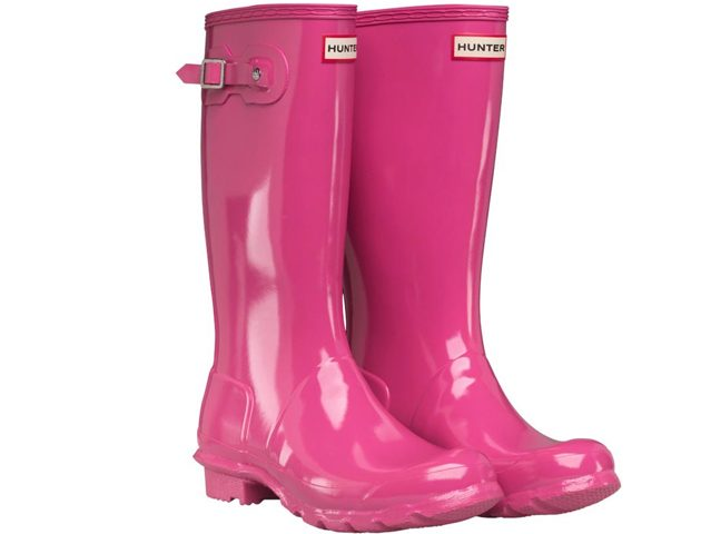 Hunter Wellies Are THE Must Have Wet Weather Boot And Now You Can Get Your Feet Into A Pair For Less Than 30 As This Perfect Pink RRP 5899