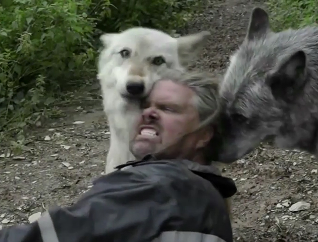 Meet The Real Life Wolf Man He S One Of The Pack