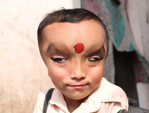 6 Year Old From Jalandhar In India Is Worshipped As God Ganesha