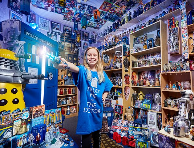 6d4913a7817 Lily Connors owner of the world s biggest Doctor Who collection