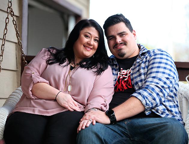 Nicci dan suaminya, Andy