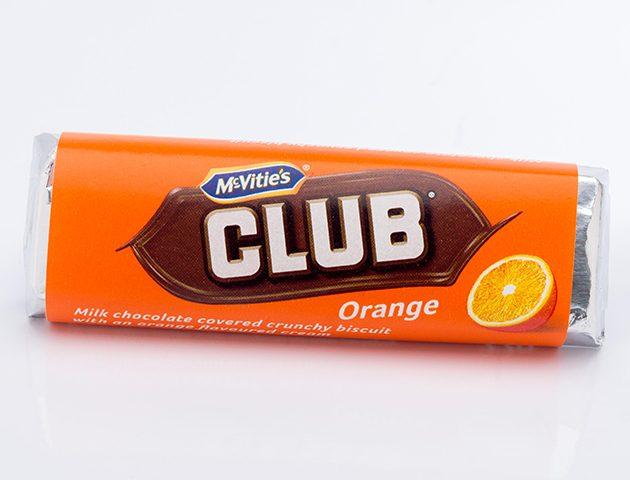 Mcvities Orange Club Biscuit Life Death Prizes