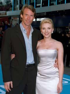 Scarlett Johansson and Michael Bay