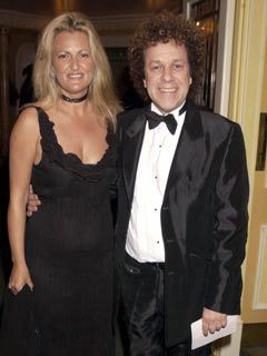 Leo Sayer and wife