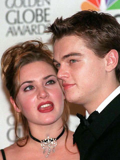 Kate winslet dating leonardo