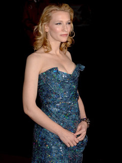 Cate Blanchett at the premiere of Elizabeth: The Golden Age at the London Film Festival