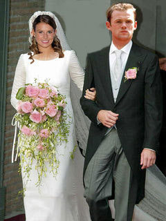 Fantasy pic of Coleen McLoughlin marrying Wayne Rooney