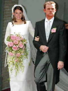 Fantasy Pic Of Coleen Mcloughlin Marrying Wayne Rooney