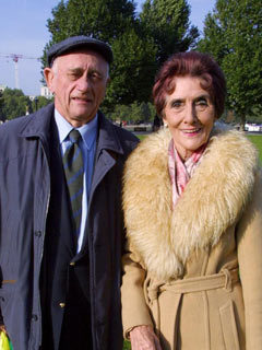 EastEnders star John Bardon and June Brown AKA Jim and Dot Branning