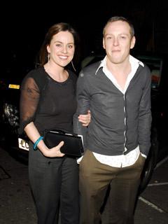 Jill Halfpenny and husband Craig Conway
