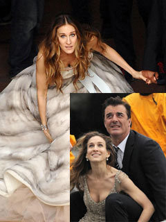 Sarah Jessica Parker and Chris Noth