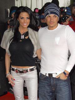 Jordan and Peter Andre