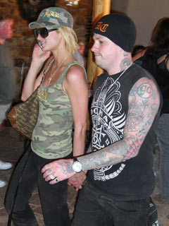Paris Hilton and Benji Madden in South Africa