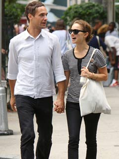 Natalie Portman and Nathan Bogle out and about in New York