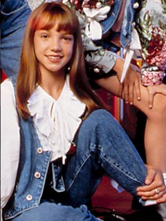 Britney Spears   Britney Spears joins the Mickey Mouse Club   Now magazine