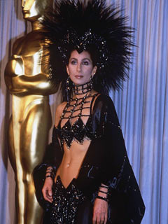 OMG! What is Cher wearing?