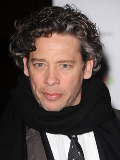 Dexter Fletcher looks dapper