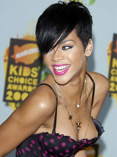 OMG! Rihanna reveals a little too much