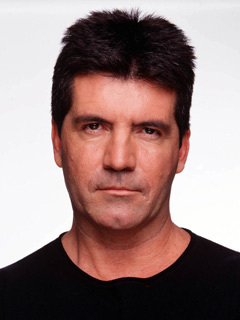 The original Mr Nasty, Simon Cowell.
