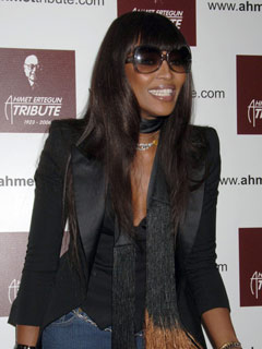 Naomi Campbell looks shady