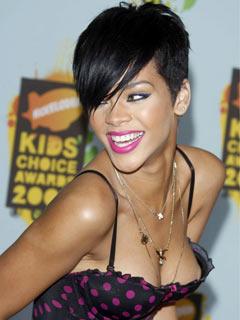 OMG! Rihanna reveals a little too much