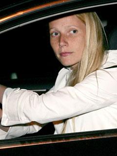 Gwyneth Paltrow gets in gear