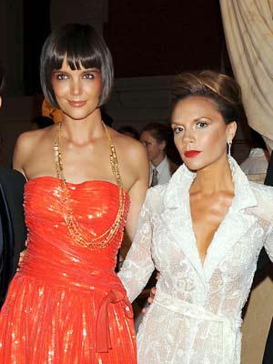 Victoria Beckham and Katie