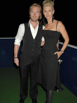 Ronan Keating and wife Yvonne Connolly