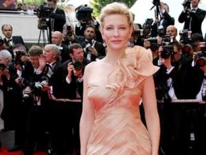 Cate Blanchett looks slender